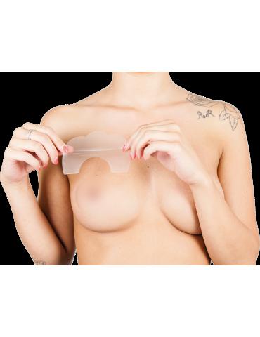 Levez-go! Autocollants de soutien-gorge invisibles PLUS Push Up Breast