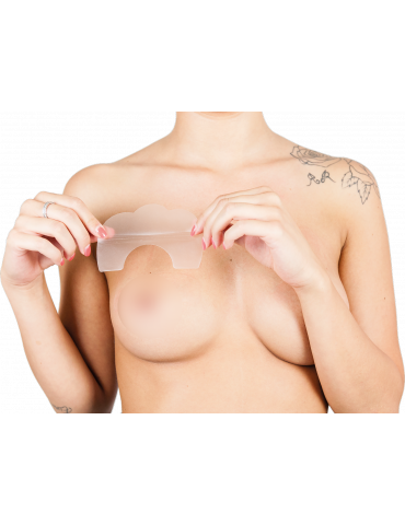 Levez-go! Autocollants de soutien-gorge invisibles d'OR poussent vers le haut du sein