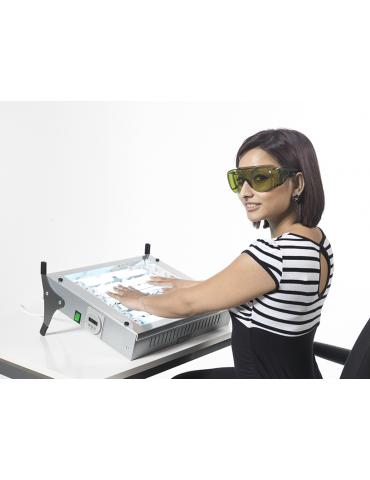 Medlight N-Line T Form Hands - Pies - Fototerapia portátil caraFotoluces MEDlight N-LINETmodule