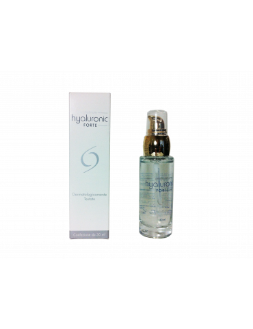 Gel Viso e decolletè Platinum Hyaluronic Forte rigenerante Ialuronico 30ml