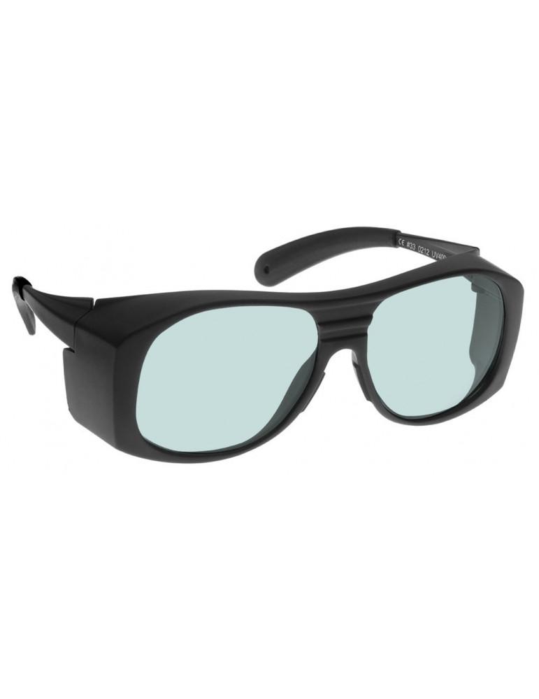 Nd:Yag + Infrared Laser Safety Glasses High Transparency Nd:Yag Glasses NoIR LaserShields FG1#37