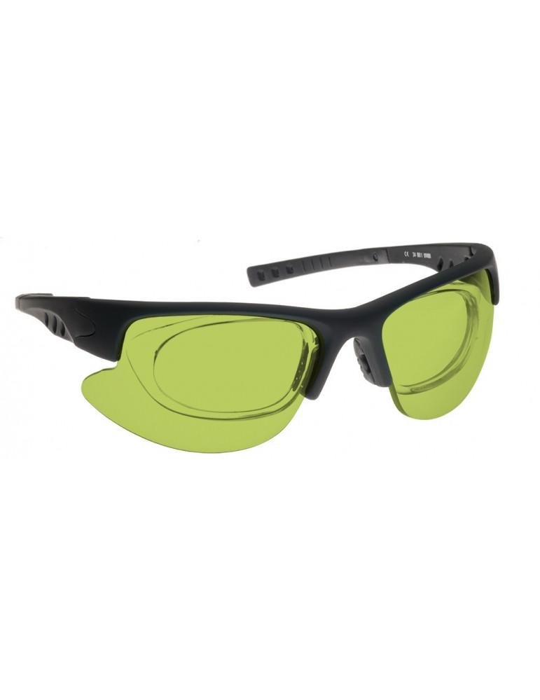 Gafas láser infrarrojand Nd:Yag Gafas de Sol Nd:Yag NoIR LaserShields YG3-34