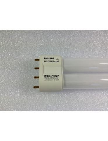Lámpara de fototerapia UVB TL01 PL-L 36W / 01/4PLampUV UVB Philips