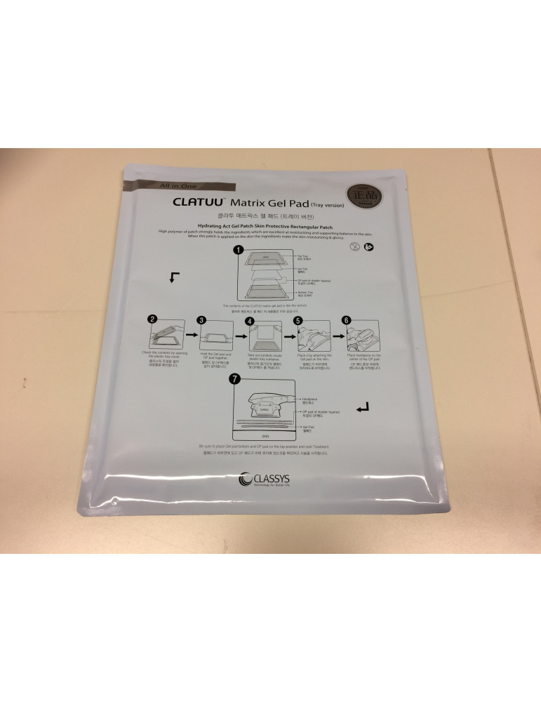 Clatuu Matrix Gel Pad Tray Version