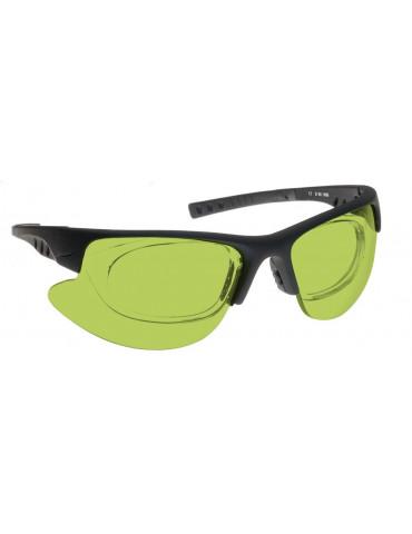 Gafas láser combinadas Nd:Yag, Diod y Vidrios AlexandritCombined NoIR LaserShields YG4-34