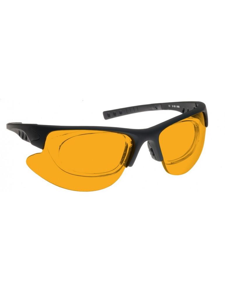Luz de madera y gafas UVUVA / UVB NoIR LaserShields 60-34