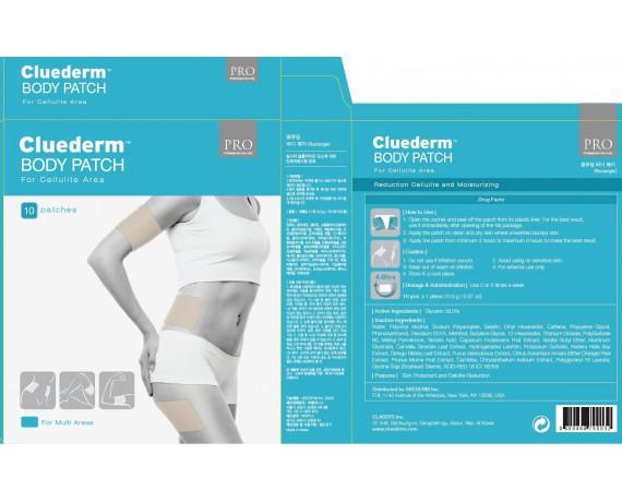 Cluederm cerotto anti cellulite braccia e gambe