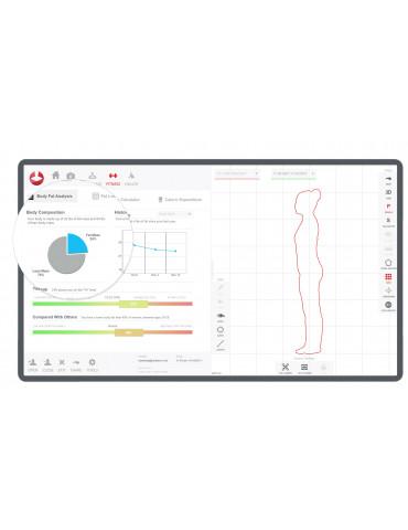 Escáner corporal StykuScanner 3D para cuerpo styku