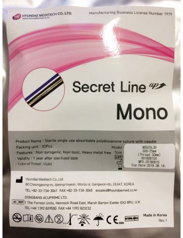 Bioestimulantes estéticos Secret Mono 20 pz. Hyundae Meditech Bioestimulantes Alambres