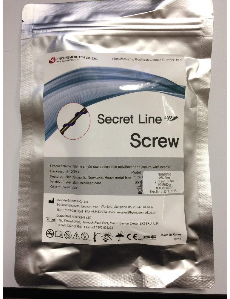 Fili di Sospensione Viso Secret Screw 20 pz