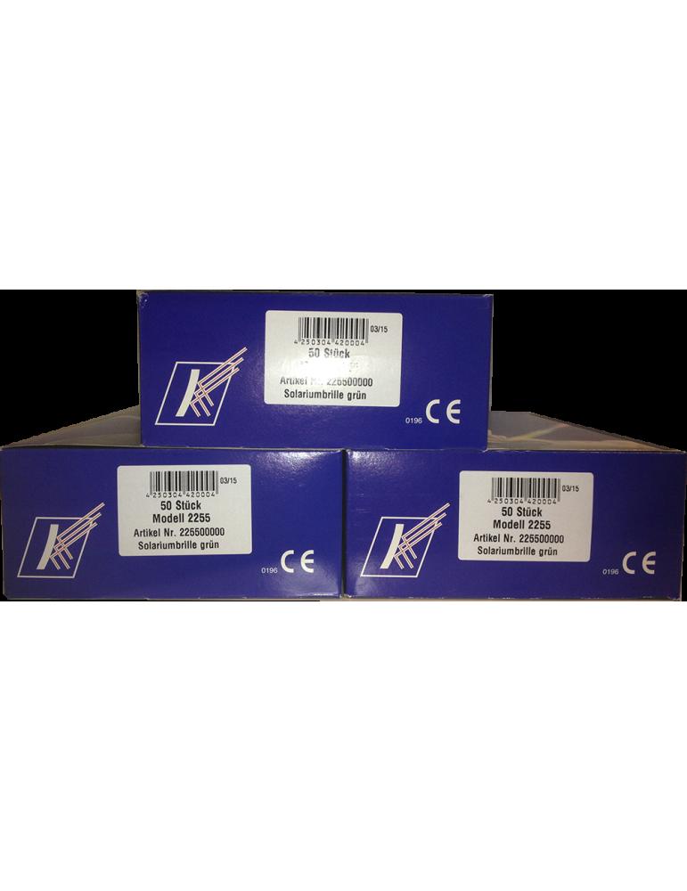UV phototherapy patient Goggles BOX 100 pcs UVA / UVB Glasses  2255-BOX100