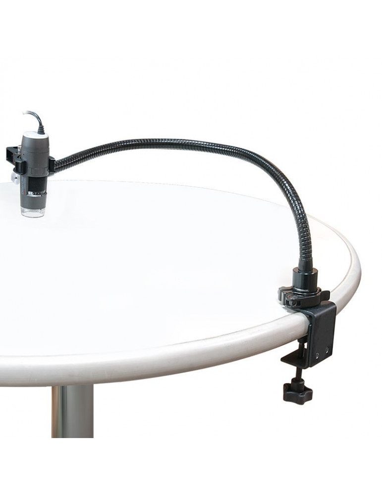 RK-02 supporto a collo di cigno per microscopio digitale Dino-Lite.Microscopi Digitali DinoLite RK-02