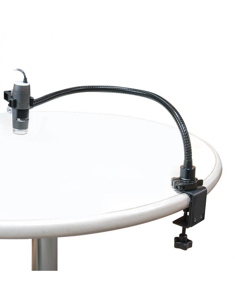 Soporte de cuello de cisne RK-02 para microscopio digital Dino-Lite.Digital Microscopios DinoLite RK-02