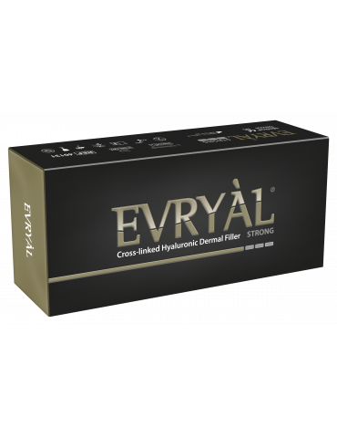 Cross-linked Hyaluronic Dermal Filler Evryàl Strong Cross-linked Filler Apharm S.r.l.