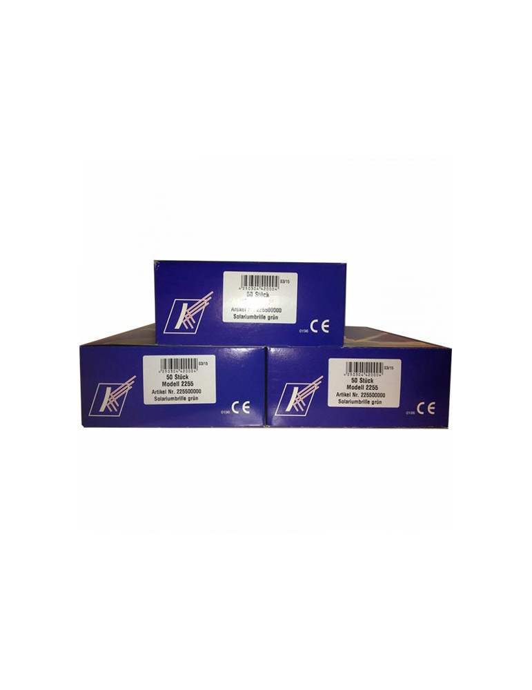UV BOX 200 Patienten-FototherapiegläserUVA/UVB 2255-BOX200
