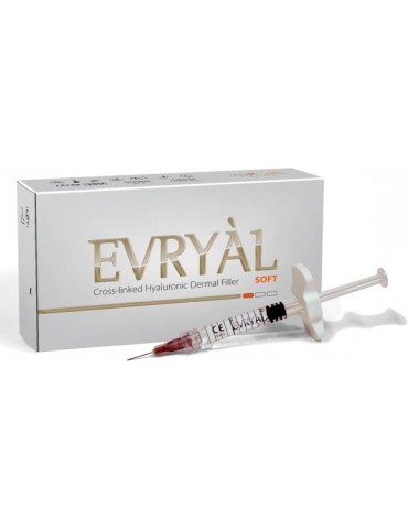 Cross-linked Hyaluronic Dermal Filler Evryàl Soft Cross-linked Filler Apharm S.r.l.
