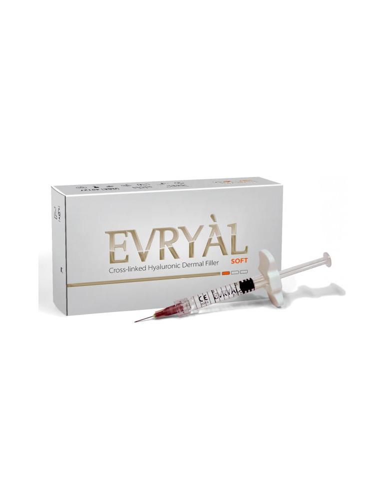 Cross-linked Hyaluronic Dermal Filler Evryàl Soft Cross-linked Filler Apharm S.r.l.