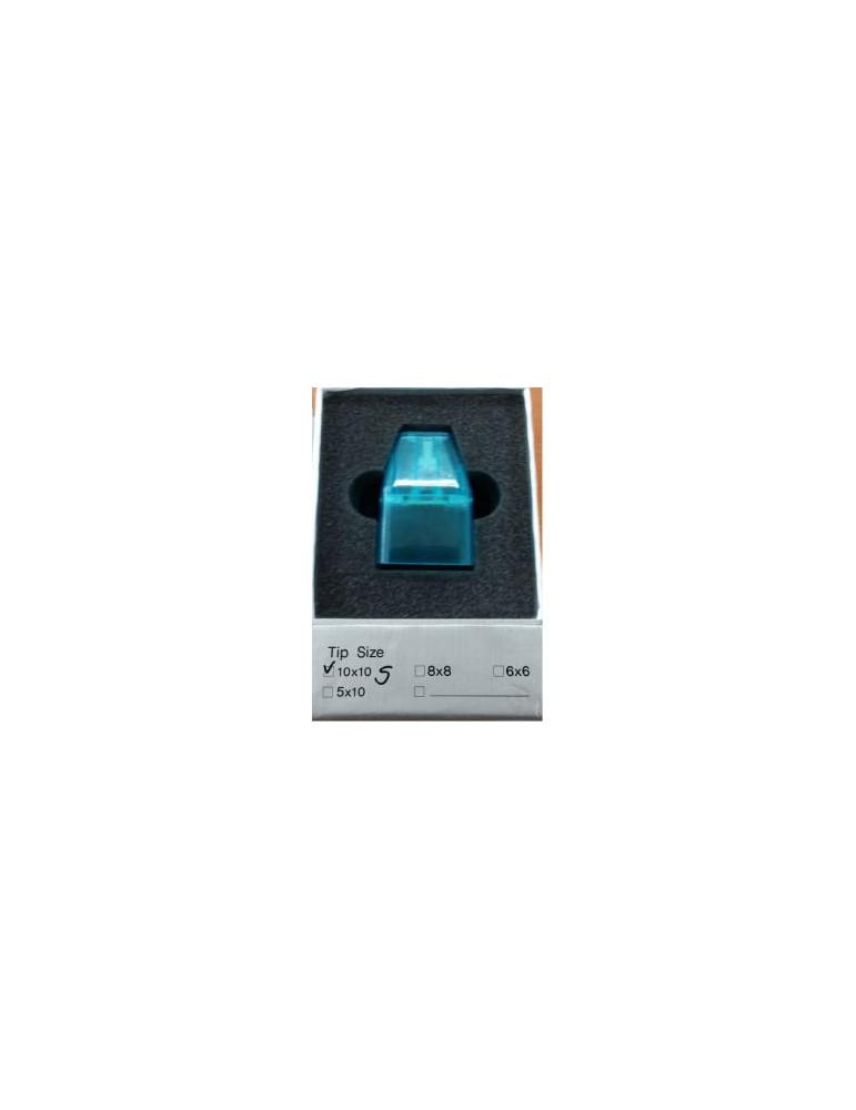 Punta de zafiro 10x10 para mosaico Lutronic HPLutronic 6050234001