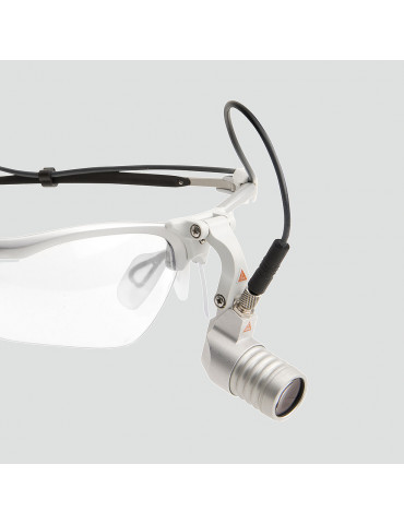 Heine Microlight 2 frontal examination lamp glasses mount Frontal lamps HEINE J-008.31.276
