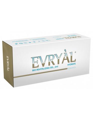 Relleno Biorevitalizante Evryal Hidrato 2x2ml Revitalizante Hialuronico HYDRATE