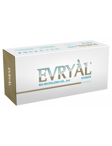Filleau Biorevitalisant Evryal Hydrate 2x2mlRevitalizing Hyaluronico HYDRATE