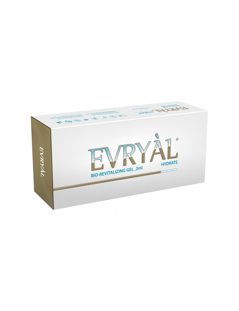 Bio-Revitalizing Filler Evryal Hydrate 2x2ml Hyaluronic Revitalizing  HYDRATE