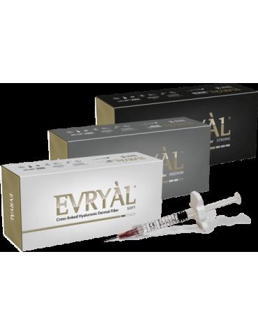 Evryàl Starter Pack 3 części Mocne - Miękkie - Średni wypełniacz IaluronicoFiller Usieciowane Apharm S.r.l. EVRYAL3PACK