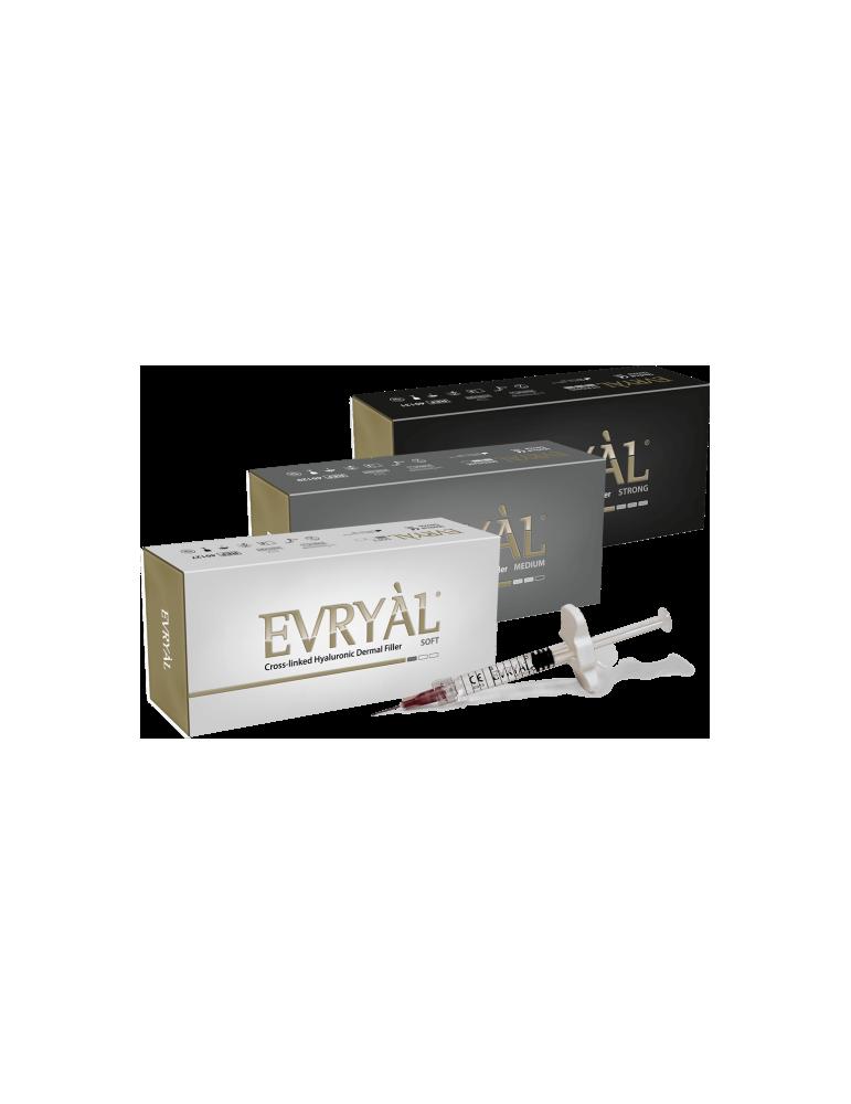 Evryàl Starter Pack 3 pieces Strong - Medium - Soft Hyaluronic Filler Cross-linked Filler Apharm S.r.l. EVRYAL3PACK