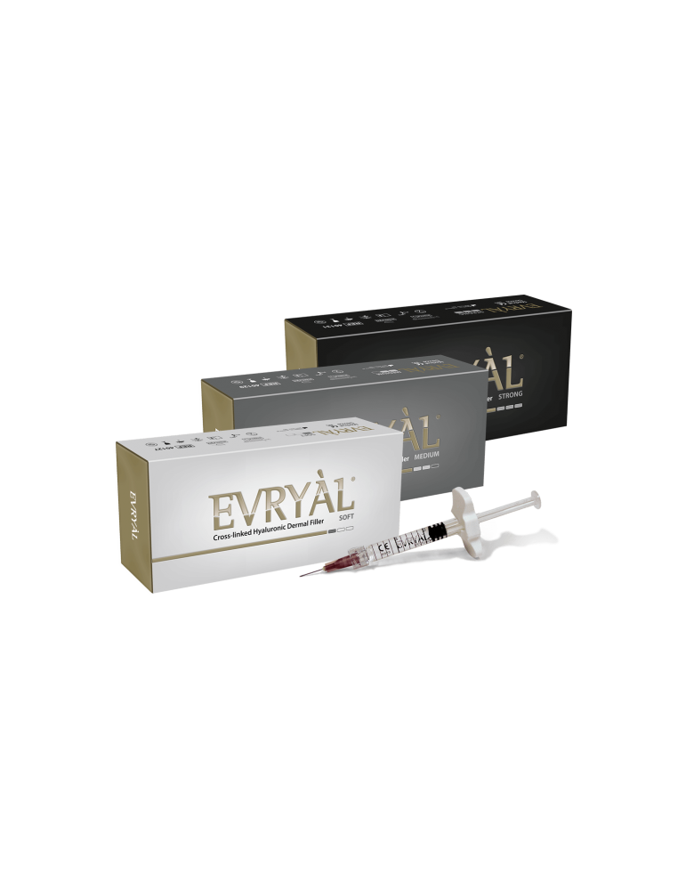 Evryàl Starter Pack 3 pezzi Strong - Soft - Medium Filler IaluronicoFiller Cross-linkati Apharm S.r.l. EVRYAL3PACK