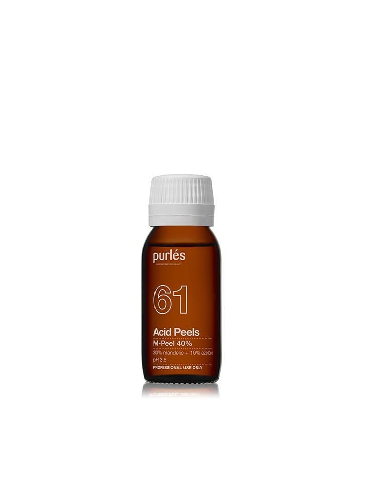 Purles 61 M-Peel chemical Peel with Mandelic Acid 40% 100 ml Chemical Peeling Purles PURLES61