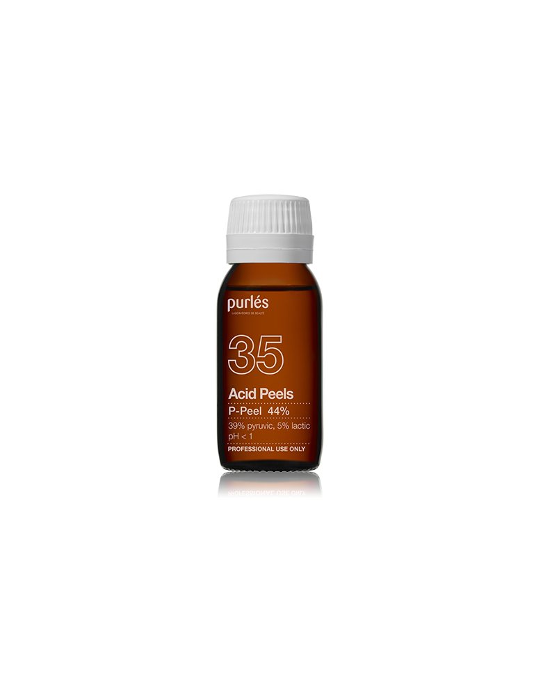 Purles 35 P-Peel chemical peeling with Pyruvic Acid 39% Lactic 5% 50 ml Chemical Peeling Purles PURLES35