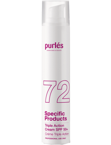 Purles 72 - SPF 50 triple protective cream 50 ml bottle Chemical Peeling Purles PURLES72