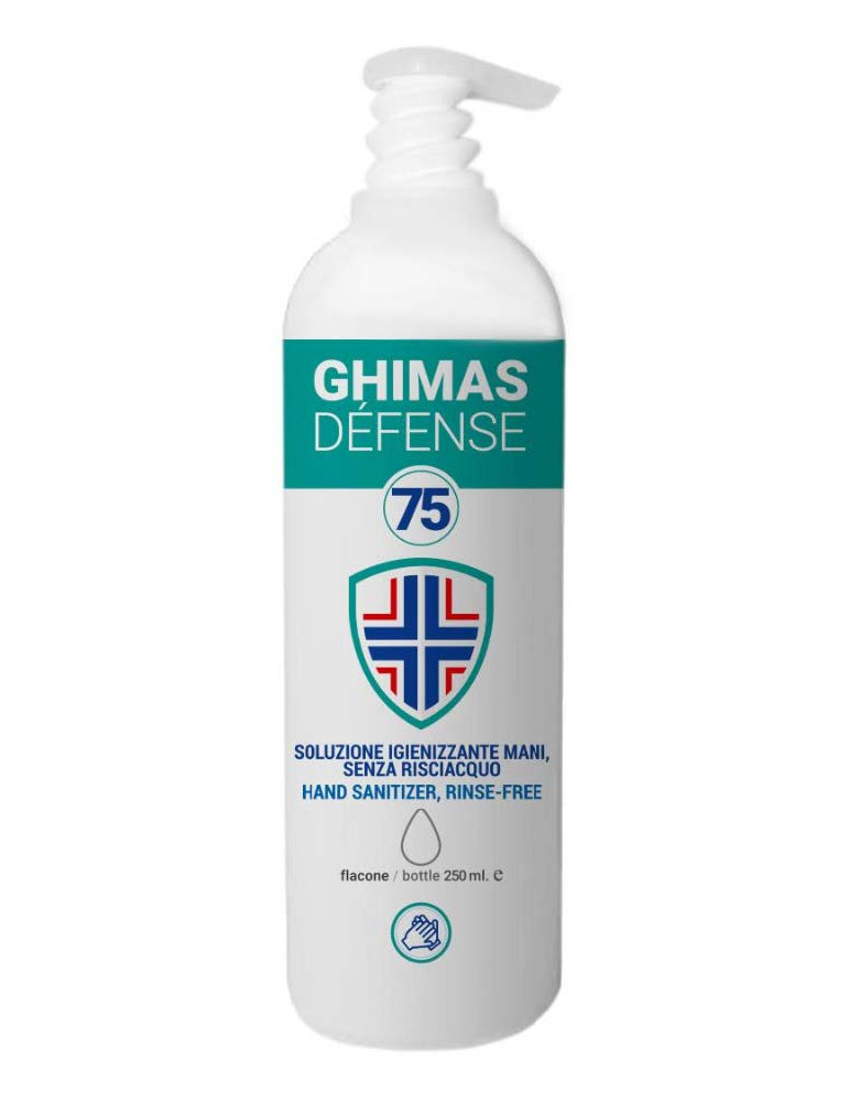 Gel disinfettante mani al 75% alcol dispenser 1 LitroHome page  GHIMAS75