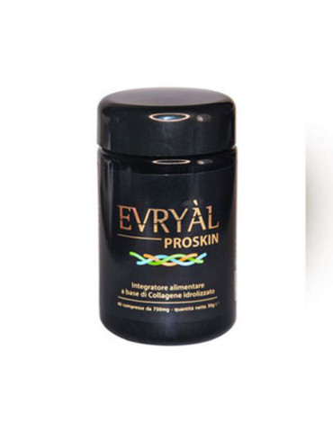 Evryal® Proskin 40 tablets food supplement based on collagen Creams and Gels for Body Apharm S.r.l. PROSKIN