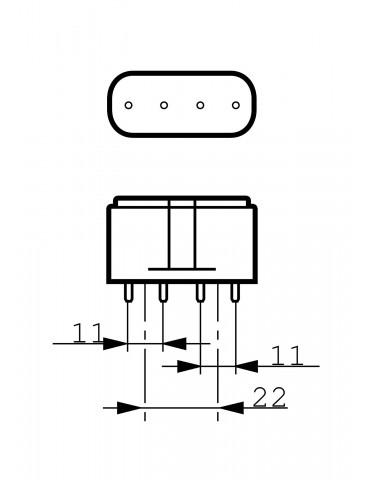 Lámpara UVC TUV PL-L 36W/4P GermidaLampade UVC Philips