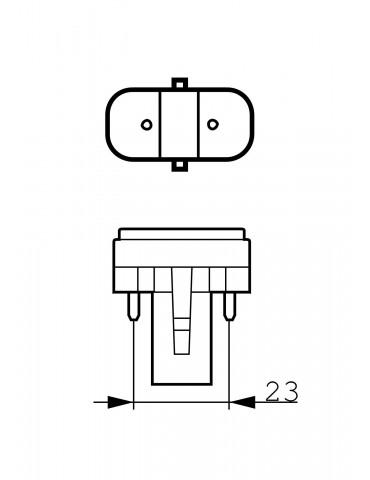Lámpara de fototerapia UVB PL-S 9W/01/2PLamps UVB Philips