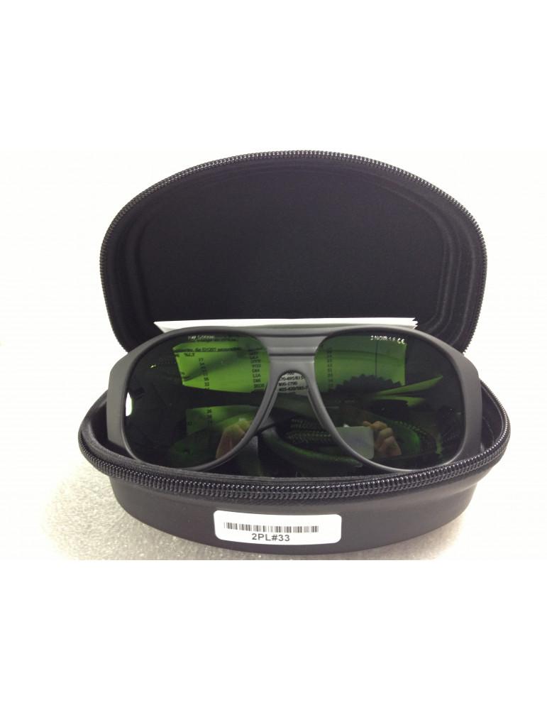 Gafas de luz de pulso ancho de banda anchaNoIR LaserShields 2PL-33