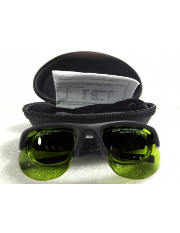 Occhiali Luce Pulsata larga banda con montatura supplementare