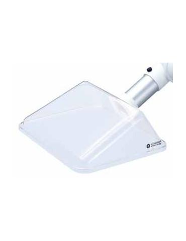 PETG Suction capot 245x220 mm de couleur blanche. TBH GmbH 10308 Accessoires Fume Shab