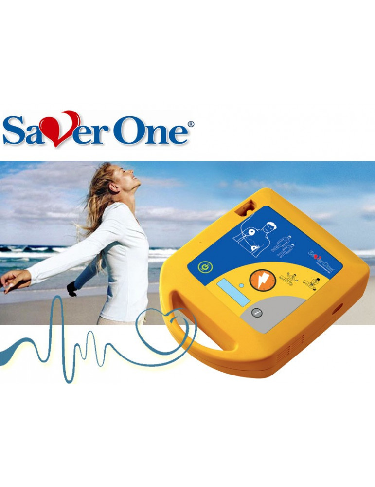Saver ONE Automatic Defibrillator Ami. Italie