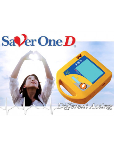 Saver ONE D Semiautomatic Defibriallator ECG monitoring Defibrillators ami.Italia