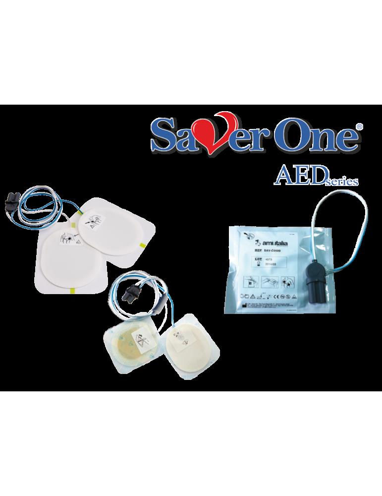 PADs Saver One SeriesA Defibrillator Zubehör. Italien