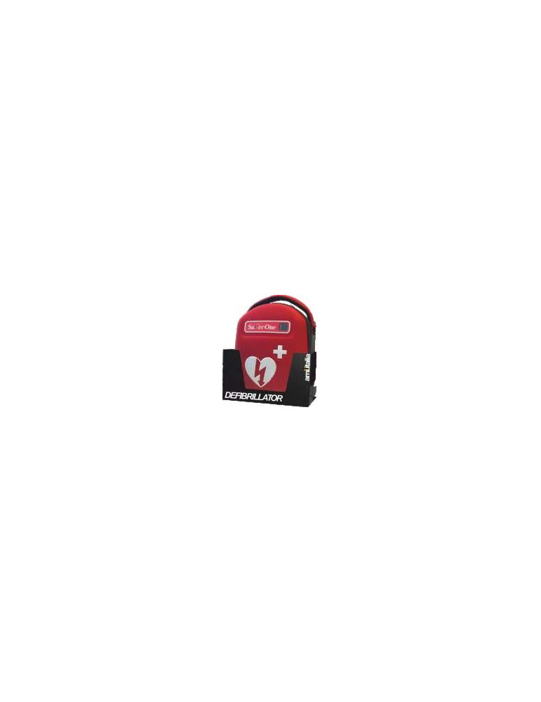 Support mural métallique Économiseur DE défibrillateur ONEAccessories DEFibrillators SAV-C0911