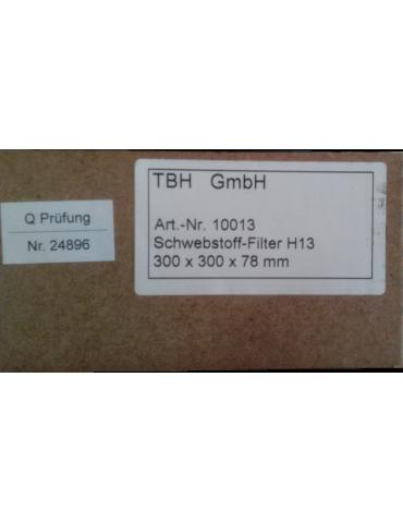 Filtro de vacío de humo TBH LN230Accesorios Limpiador de humo TBH GmbH 10013
