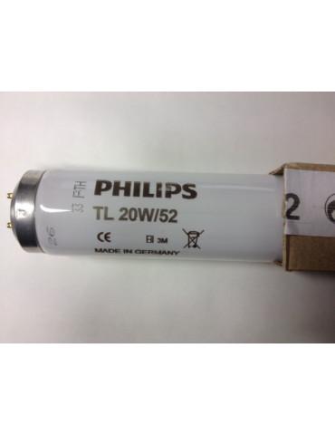 Lámpara TL 20W/52 Lámparas de ictericia neonatal de fototerapia SLV UVA Philips