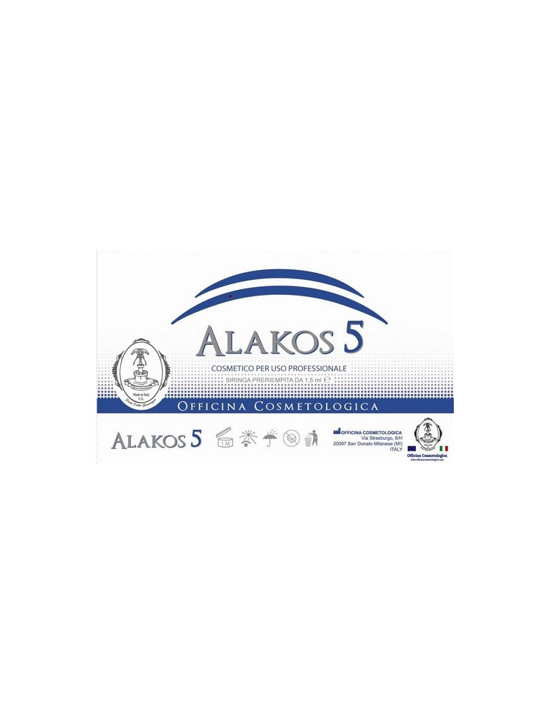 Alakos 5 Crema Acido Delta Aminolevulinico CheratoliticoAcido Aminolevulinico Officina Cosmetologica