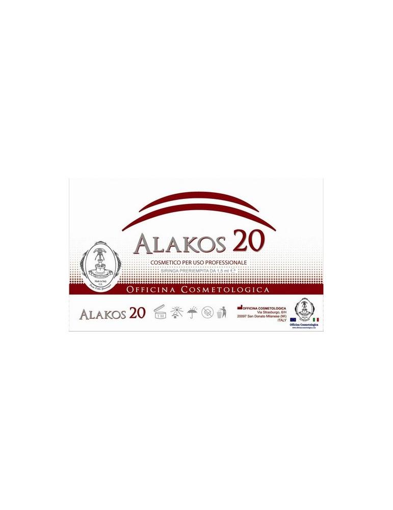 Alakos 20 acid Delta Aminolevulinic Cheratolitic cream for PDT  Aminolevulinic Acid Officina Cosmetologica