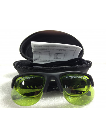 Diode laser light Safety Glasses Low Optical Density Diode Glasses NoIR LaserShields DI6#34