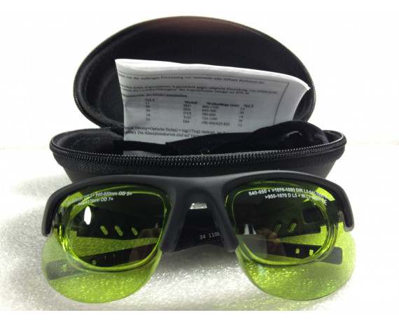 Occhiali di protezione laser diodo Bassa Densità Ottica