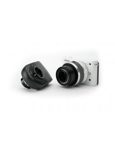DermLite MagnetiConnect™ per serie Nikon 1 Accessori e adattatori per dermatoscopi